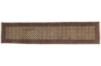 Oriental Collection Teppich, Sarough, Perser-Teppich, handgeknüpft, reine Schurwolle, florale Ornamentik, 71 x 325 cm