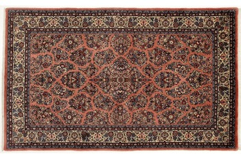 Oriental Collection Sarough Teppich, Perser Teppich, handgeknüpft, 155 x 255 cm