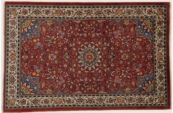 Oriental Collection Teppich, Sarough, Perser-Teppich, handgeknüpft, reine Schurwolle, florale Ornamentik, 135 x 200 cm