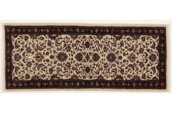 Oriental Collection Teppich, Sarough, Perser-Teppich, handgeknüpft, reine Schurwolle, florale Ornamentik, 63 x 153 cm