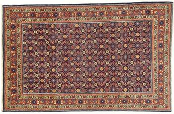 Oriental Collection Teppich, Sarough, Perser-Teppich, handgeknüpft, reine Schurwolle, florale Ornamentik, 123 x 192 cm