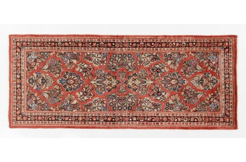 Oriental Collection Sarough Perserteppich 80 x 200 cm
