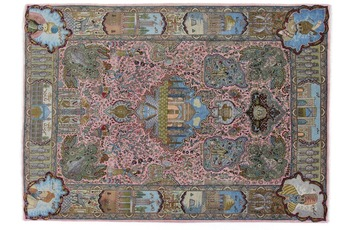 Oriental Collection Tabriz-Teppich 50radj 195 cm x 275 cm