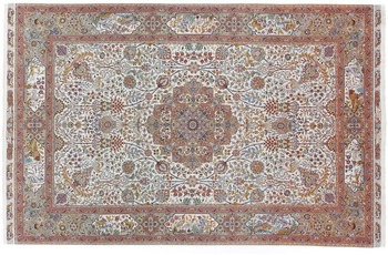 Oriental Collection Tabriz 60radj auf Seide 200 cm x 305 cm