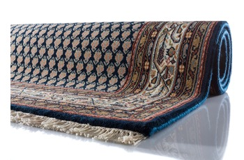Oriental Collection Teppich Puna Mir dunkelblau 80 cm x 300 cm