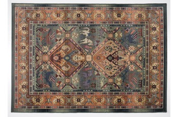 Oriental Collection Teppich Gabiro, 13, green 120 cm rund