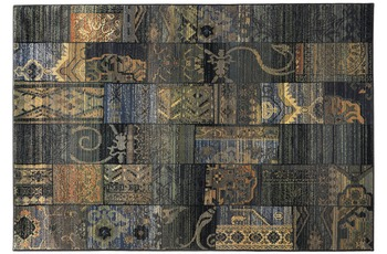 Oriental Collection Teppich Gabiro, 5504, blue 120cm x 180cm
