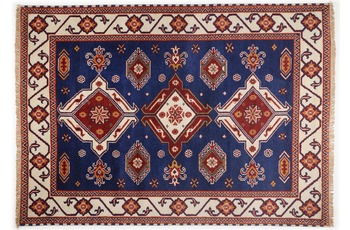 Oriental Collection Teppich Kazak Imperial, 242, blue 70cm x 270cm