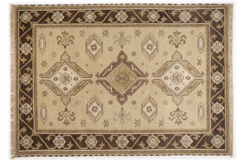 Oriental Collection Teppich Kazak Imperial, 242, camel 60cm x 90cm