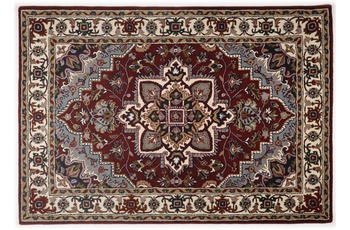 Oriental Collection Teppich Royal Heriz, Heriz, red /  cream 70cm x 270cm
