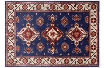 Oriental Collection Teppich Royal Kazak, 242, blue 70cm x 270cm