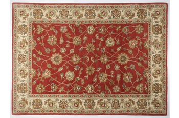 Oriental Collection Teppich Royal Ziegler, 503, rust /  cream 190 cm rund