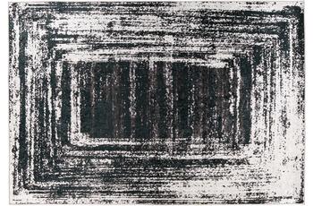 Padiro Teppich Rhodin 725 Schwarz /  Weiß