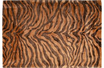 Padiro Teppich Sinai 125 Braun /  Dunkelbraun