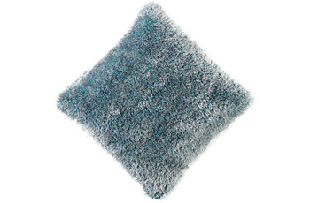 Peyer Syntex Kissen Sorella gefüllt blau 45 cm x 45 cm