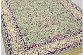 Peyer Syntex Teppich Isphahan 77806 grün 185 cm x 275 cm