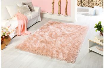 Peyer Syntex Teppich Sofia Polyshaggy rosé 180 cm rund