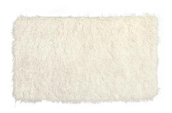 Peyer Syntex Teppich Sofia Polyshaggy wollweiß 180 cm rund