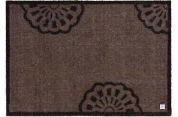 Barbara Becker Fußmatte BB Lace sandy brown 67 x 170 cm