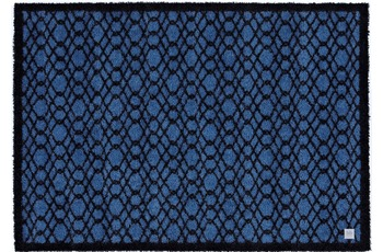 Barbara Becker Fußmatte BB String true blue 67 x 170 cm