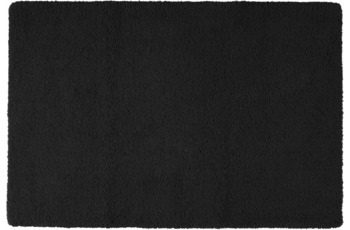 Rhomtuft Badteppich ASPECT  schwarz