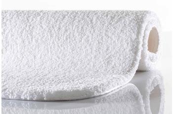 RHOMTUFT Badteppich SQUARE/ ASPECT weiß 50 cm x 60 cm mit abgerundeten Ecken