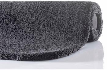 RHOMTUFT Badteppich SQUARE/ ASPECT zinn 50 cm x 60 cm mit abgerundeten Ecken
