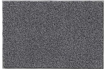 RHOMTUFT Badteppich BICOTTON kiesel/ zinn 60 x 60 cm WC-Vorleger mit Ausschnitt