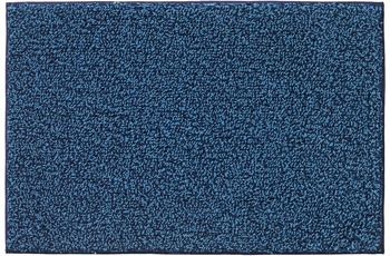 Rhomtuft Badteppich BICOTTON  kobalt/ aqua 70 x 150 cm