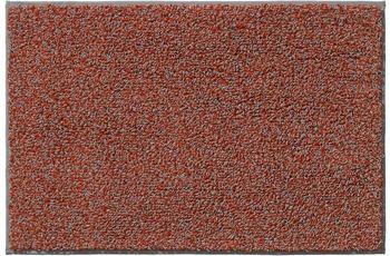 RHOMTUFT Badteppich BICOTTON terra/ kiesel 50 x 65 cm
