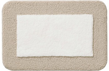 RHOMTUFT Badteppich CULT ecru/ creme 50 cm x 65 cm