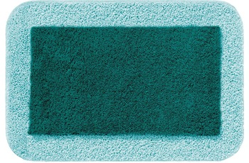 RHOMTUFT Badteppich CULT pazifik/ mint 50 cm x 65 cm