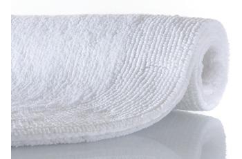 Rhomtuft Badteppich EXQUISIT  weiß 100 cm rund