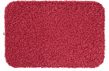 RHOMTUFT Badteppich LAVA bordeaux/ erdbeere 50 cm x 65 cm