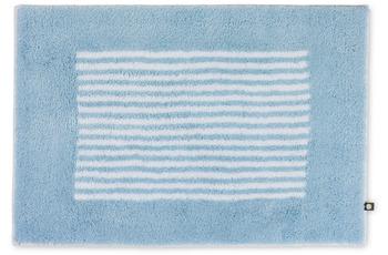 RHOMTUFT Badteppich LINEA air/ weiß 70 x 150 cm
