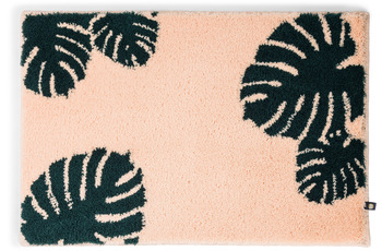 RHOMTUFT Badteppich MONSTERA crevette/ sumatra 50 x 65 cm