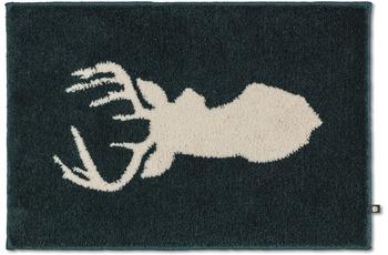 RHOMTUFT Badteppich NEW LORD sumatra/ edelweiß 50 x 65 cm