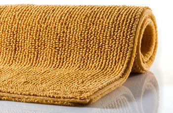 RHOMTUFT Badteppich PUR gold 70 x 130 cm