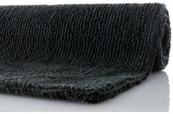 RHOMTUFT Badteppich PUR schwarz 70 cm x 130 cm