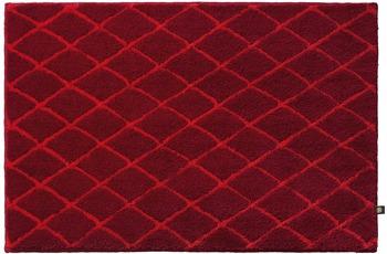 RHOMTUFT Badteppich RHOM cardinal/ carmin 70 cm x 150 cm