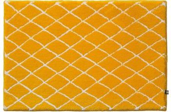 RHOMTUFT Badteppich RHOM sonne/ banane 70 cm x 150 cm