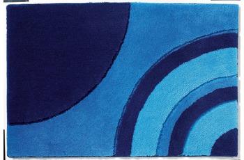 Rhomtuft Badteppich SWOOP kobalt/ jeans/ arktis