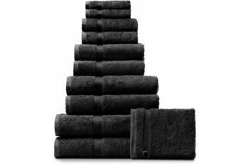 RHOMTUFT Handtuch/ Duschtuch PRINCESS, schwarz