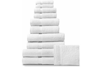 RHOMTUFT Handtuch/ Duschtuch PRINCESS, weiß