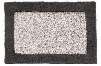 RHOMTUFT Badteppich ORIGO ferro/ moor 65 cm x 110 cm