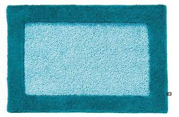 Rhomtuft Badteppich ORIGO mint/ pazifik 65 cm x 110 cm