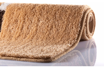 RHOMYhome Badteppich MIRA sand 65x115 cm