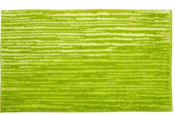 Schöner Wohnen Badteppich Mauritius Des. 003 Col. 030 Streifen grün