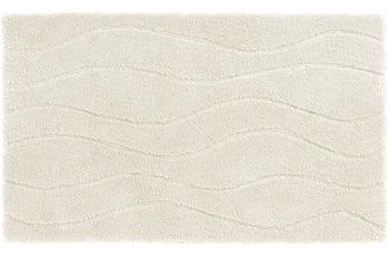 Schöner Wohnen Badteppich Santorin D. 002 C. 000 Welle weiß
