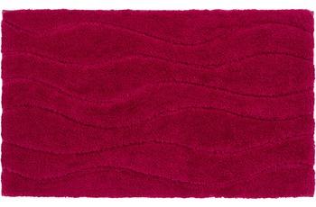 Schöner Wohnen Badteppich, Santorin, D. 002 C. 015 Welle magenta